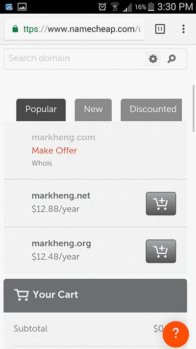 markheng namesake domains available for my online presence
